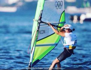 Charline Picon, médaillée d'or aux JO de Rio